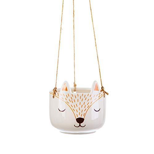 Sass & Belle Woodland Fox - Maceta colgante