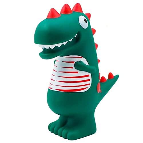 Dinosaur Piggy Bank, hucha para niños, hucha, dibujos animados, verde dinosaurio, hucha para niños, prueba de otoño, única, juguete para niños, regalo de cumpleaños