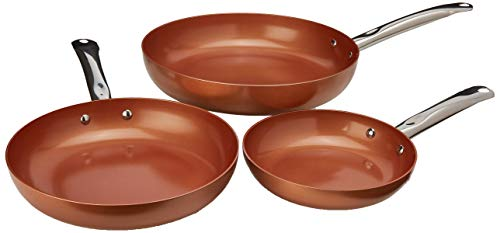 Copper Chef Round Pan 3 Pack 8/10/12""