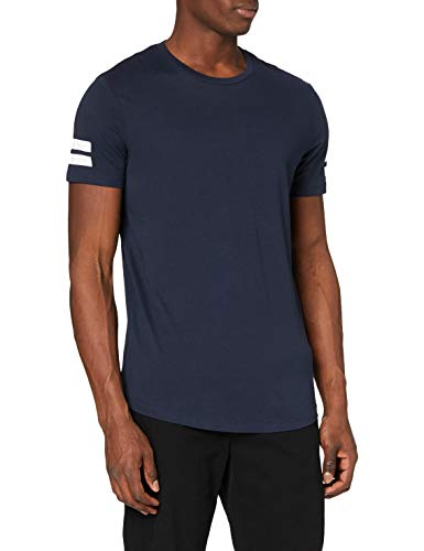JACK & JONES JCOBORO TEE SS CREW NECK, Camiseta Hombre,