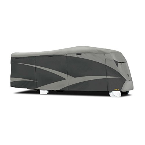 """ADCO 52845 Designer Series SFS Aqua Shed Class C RV Cover - 29'1"""" - 32' ,Gray"""