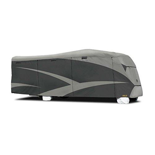 ADCO 52843 Designer Series SFS Aqua Shed Class C RV Cover - 23'1' - 26', Gray