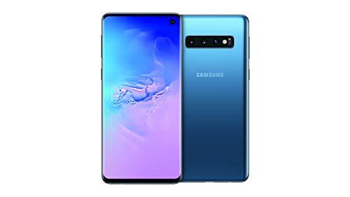 "Samsung Galaxy S10 Smartphone, 512GB, Display 6.1"", Dual SIM, Blu (Prism Blue) [Versione Tedesca]"