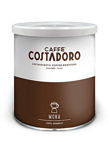 CAFFE' COSTADORO Arabica Moka Kaffee Dose, 250 g