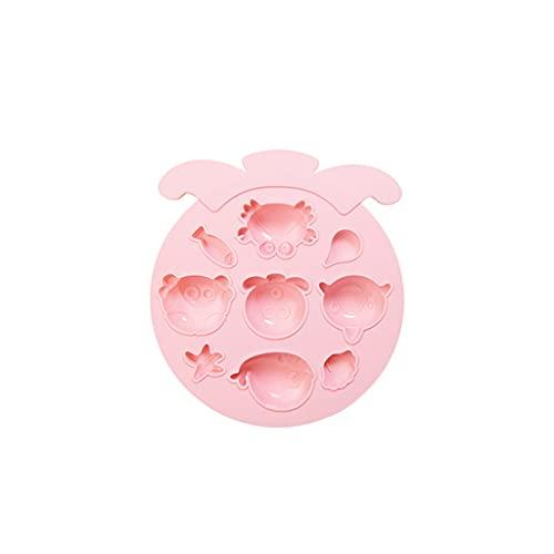 XWDQ Lindo 7/9 Cavity Silicone Molde para Hornear, Suministros para Hornear Sin Paletas, Hacer Queso Chocolate Pudín Biscuit Cocina Panadería Moldes Panadería Hogar (Color : Pink, Style : Type 3)