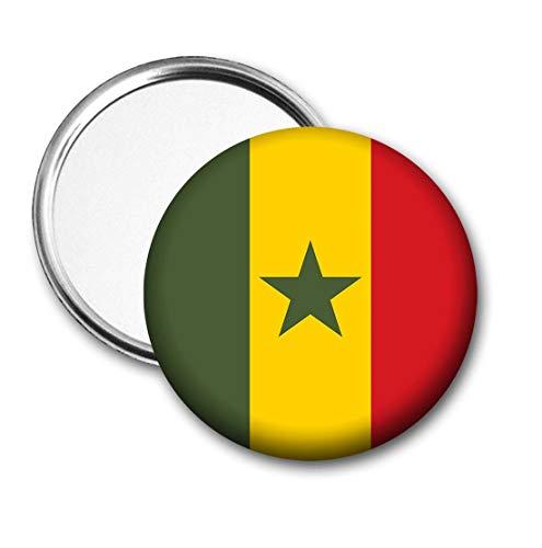 Senegal Vlag Pocket Spiegel voor Handtas - Handtas - Cadeau - Verjaardag - Kerstmis - Stocking Filler - Secret Santa