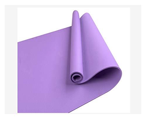MICOLOD Yoga Mats Yoga Fitness Ejercicio Mat Pad Antideslizante colchoneta de Gimnasia Deportes Manta de Caucho Natural Gym Equipment for el hogar Esterilla de Yoga Impermeable (Color : PP)