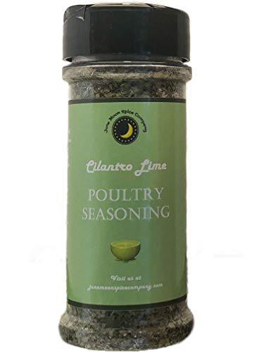 Premium | CILANTRO KEY LIME Poultry Seasoning | Large Shaker | Calorie Free | Fat Free | Saturated Fat Free | Cholesterol Free | Sugar Free
