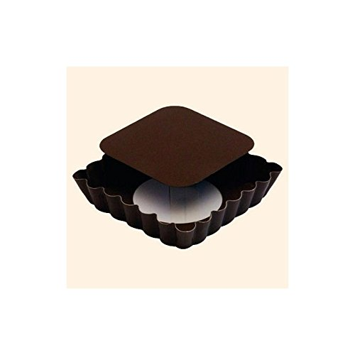 Gobel 225810 Moule /à Tarte Rectangulaire 29*20,5 cm Bord Cannel/é Fond Fixe Anti-Adh/érent