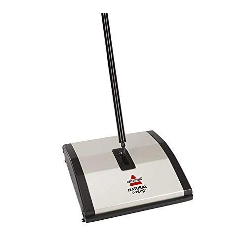 BISSELL COMMERCIAL Carpet Sweeper,Dual Brush,ABS Plastic BG23