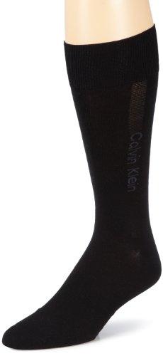 Calvin Klein - Calcetines para hombre, talla 40-41, color Negro 000
