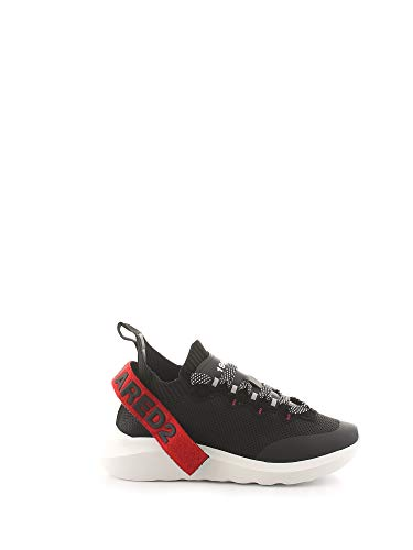 Dsquared2 Herren Speedster Sneaker Nero 41 EU