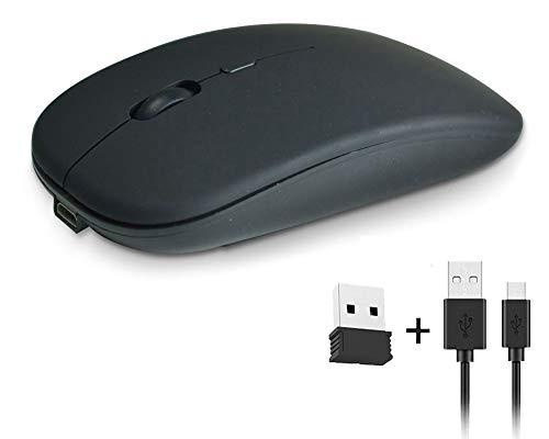 AOMEES PC Maus Wireless USB Maus Computermaus Kabellos funkmaus 2.4G Wireless Mouse 10M Gaming Maus Kabellos 1600 DPI für Laptop/PC/IPAD/MAC/XP/WP/WIN10/7/8
