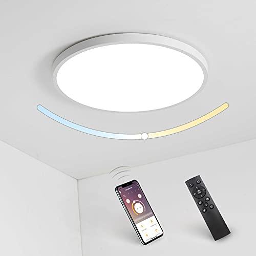 Lámparas de Techo Dormitorio Regulable Marca Everpertuk