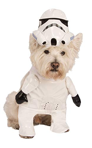 Star Wars Storm Trooper Dog Costume With Arms