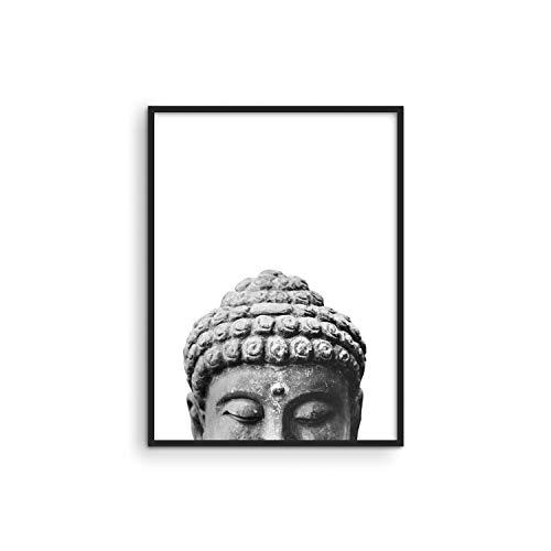 HAUS AND HUES Buddha Wall Decor and Zen Wall Art Zen Posters Wall Art | Buddha Decor Wall Art | Namaste Wall Art | Buddha Pictures Wall Decor and Meditation Wall Art | (12' x 16', UNFRAMED)