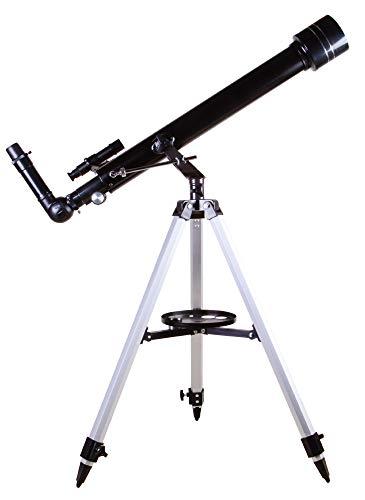 Rifrattore Levenhuk Skyline BASE 60T – Perfetto Come Primo Telescopio per Osservare Oggetti Terrestri, la Luna e i Pianeti del Sistema Solare
