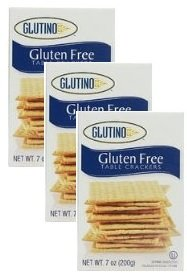 Price comparison product image Glutino,  Gluten Free Table Crackers 7 Oz ,  pack of 3