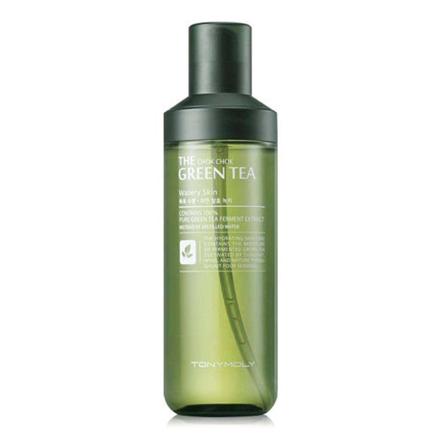 エンターテインメント付添人学部TONYMOLY The Chok Chok Green Tea Watery Skin 180ml/トニーモリー ザ チョクチョク グリーンティー ウォーターリー スキン 180ml