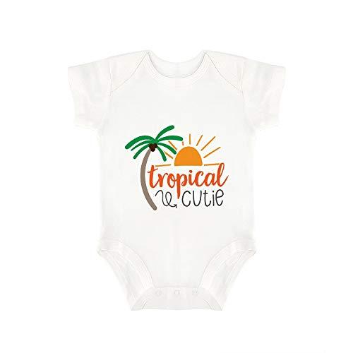 Promini - Body para bebé de una Pieza, diseño Tropical