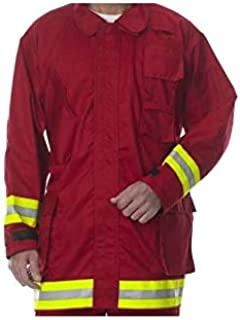 Lakeland Fire Extrication Coat (LS, Red)