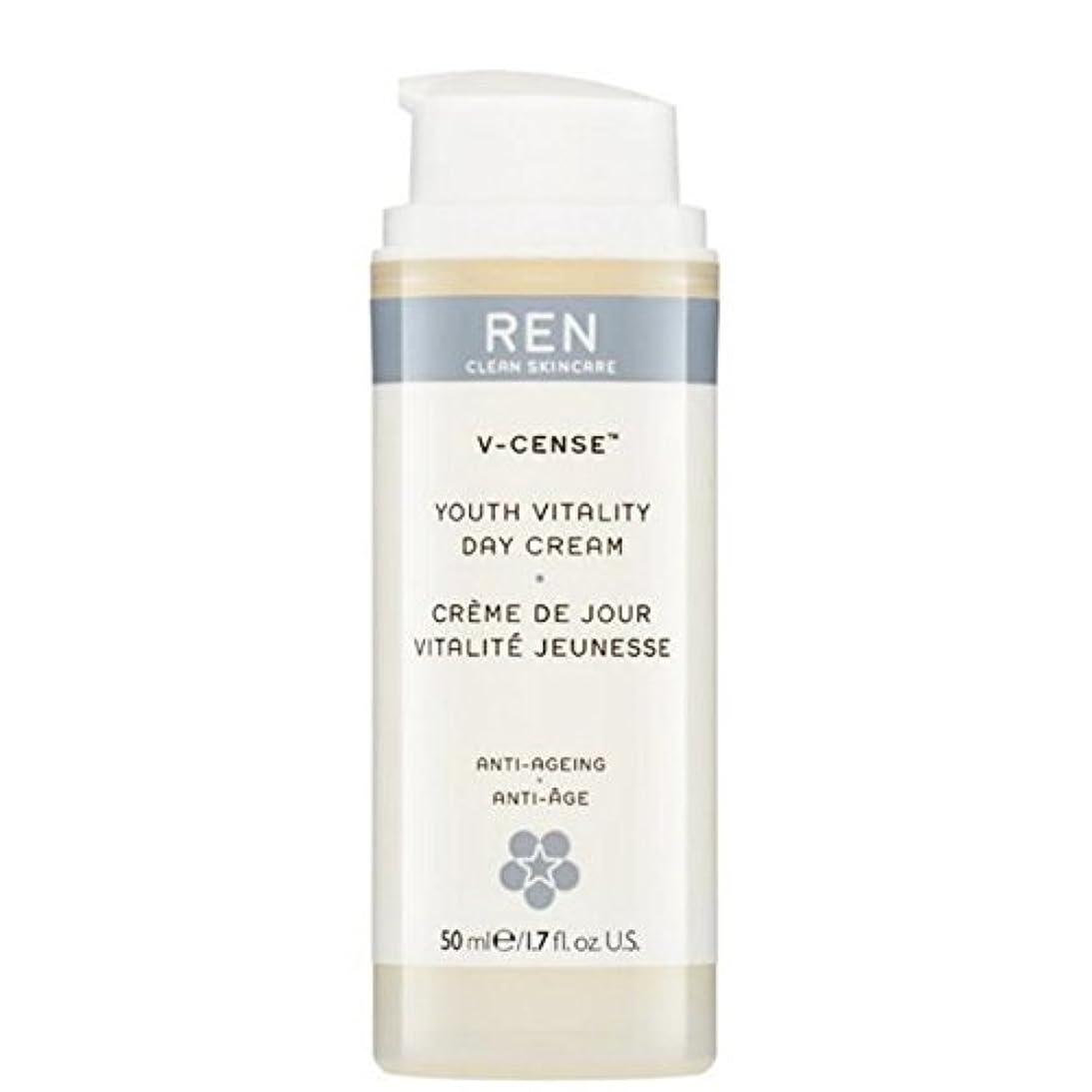 全国豪華な連想の-リバイタライジングナイトクリーム x2 - REN V-Cense Revitalising Night Cream (Pack of 2) [並行輸入品]