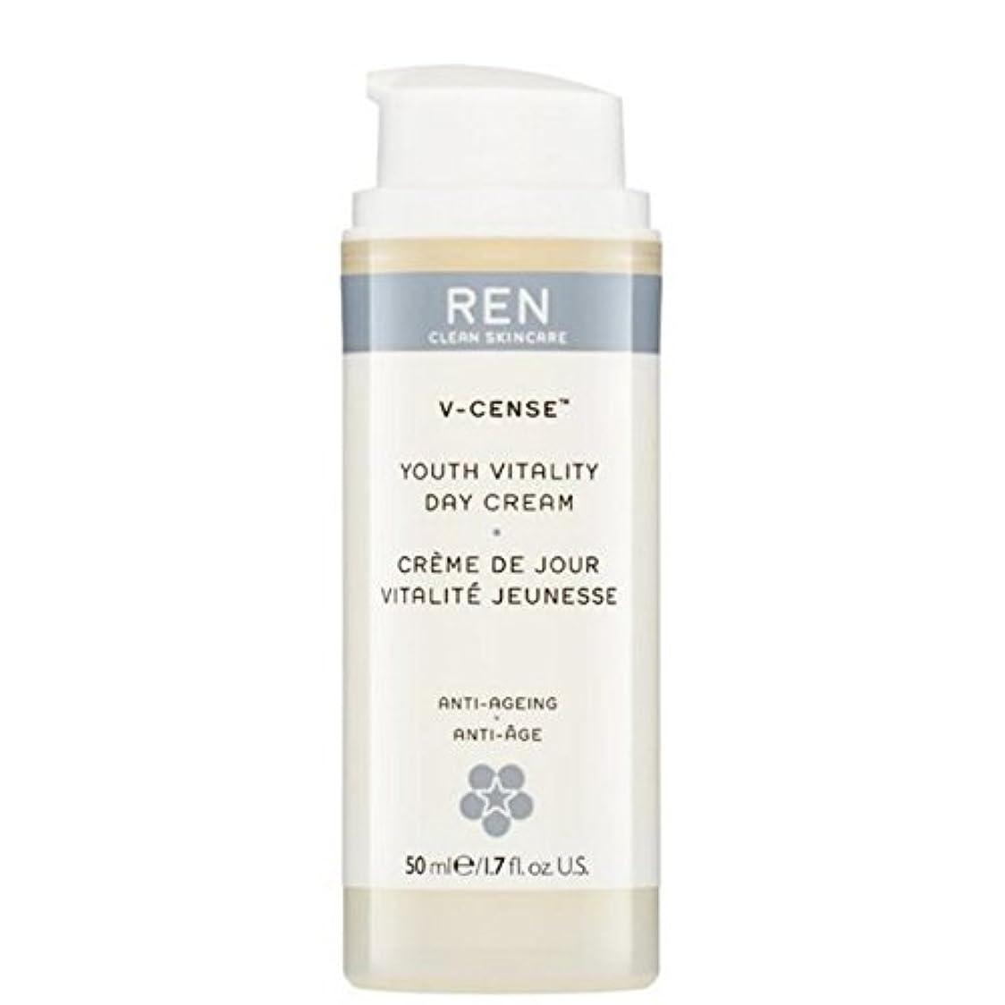 自分のために水敵REN V-Cense Revitalising Night Cream - の-リバイタライジングナイトクリーム [並行輸入品]