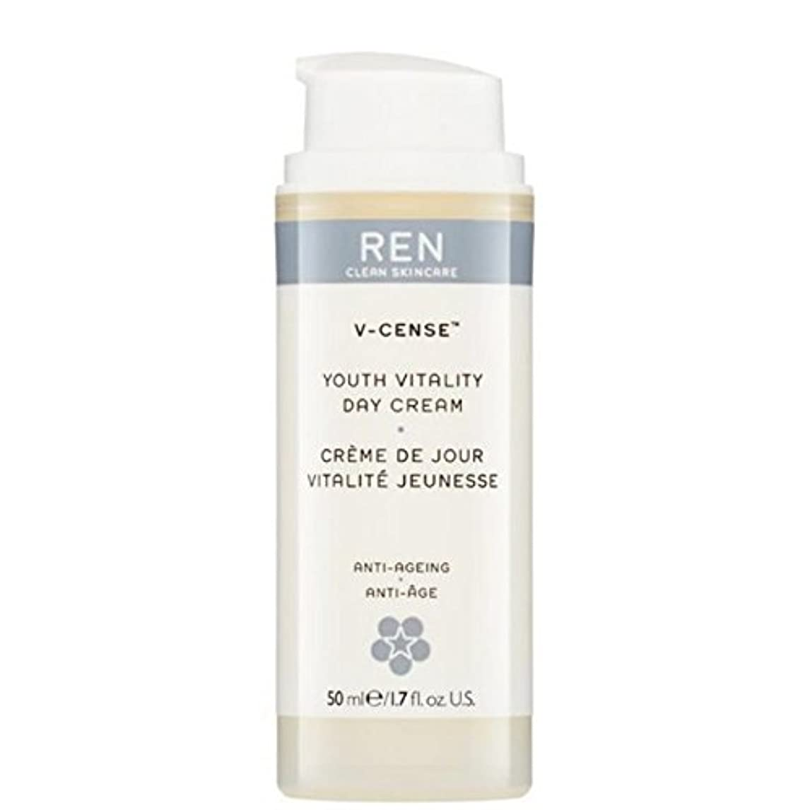 腐敗とにかく週末REN V-Cense Revitalising Night Cream - の-リバイタライジングナイトクリーム [並行輸入品]