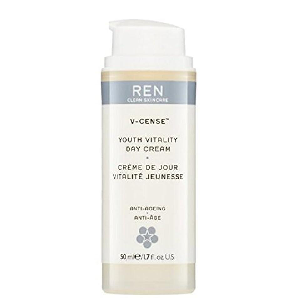 遅れ移住する土地REN V-Cense Revitalising Night Cream - の-リバイタライジングナイトクリーム [並行輸入品]