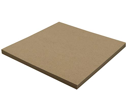 25 Chipboard Sheets 12 x 12 inch - 22pt (Point) Light Weight Brown Kraft Cardboard for Scrapbooking & Picture Frame Backing (.022 Caliper Thick) Paper Board | MagicWater Supply