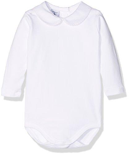 babidu 1188, Body Para Bebe, Blanco (Blanco/Rosa), 0 meses