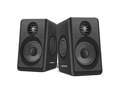 NATEC Lynx Computer Speaker 2.0 6 W RMS, Schwarz
