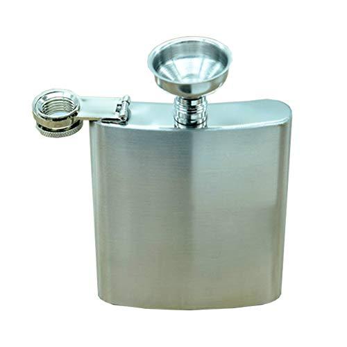 Yihaifu 10 oz portátil Cadera del Acero Inoxidable Frasco de Bolsillo Beber Licor Cadera del Acero Inoxidable de la Botella de Vino de la garrafa Whisky Vodka Pot