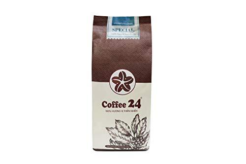 VietBeans Coffee24 SPECIAL – Hochwertige Kaffeebohnen aus Pleiku – Vietnamesischer Kaffee aus organischem Anbau – Espresso Kaffee Vietnam - 250g