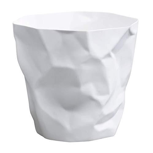 Essey 10490 Papierkorb Mülleimer Bin Bin, weiß, Polyethylen HD (HDPE), Classic