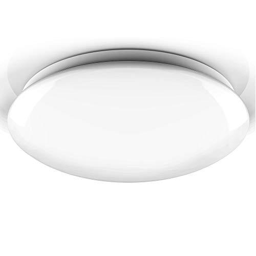 B.K.Licht I 18W LED Badezimmerlampe I Bad I NEUTRALweisses Licht I IP44 I Ø385mm I Badlampe I Badlampe I Deckenlampe I Deckenleuchte