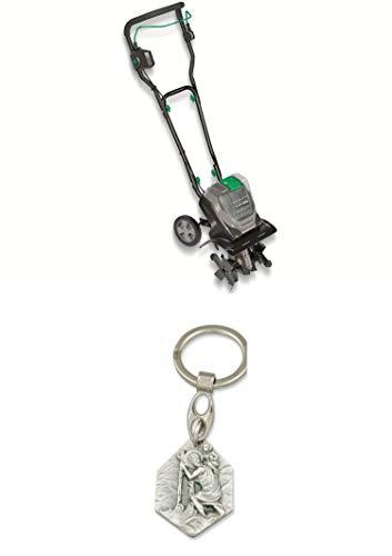 Zisa-Kombi Akku-Motorhacke GARDOL GAMH-E 40 Li Solo, Power X-Change kompatibel (985988870806) mit Anhänger Hlg. Christophorus