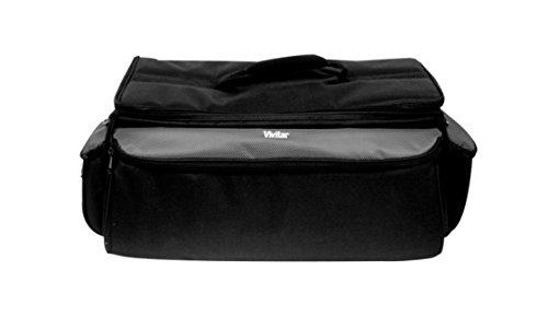 Vivitar VIV-RGC-12 Deluxe Pro Camera Camcorder Rugged Carrying Case, X-Large (Black)