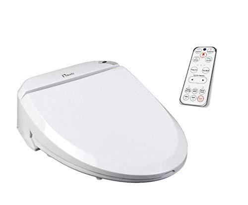 Nashi Deluxe Tapa Inodoro Bidet, Asiento bidé Sanitario japonés Inteligente, WC para baño con Ducha eléctrica