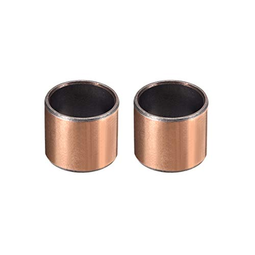 uxcell Sleeve Bearing 3/4 inches Bore x 7/8 inches OD x 3/4 inches Length Plain Bearings Wrapped Oilless Bushings Pack of 2
