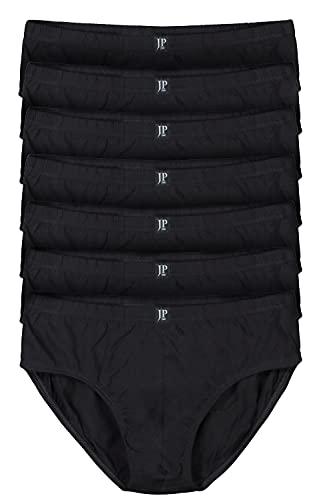 JP 1880 bis 16   Pants 7er Pack  Unterhosen, Schlüpfer, Slips, Hipster, Boxer-Shorts   Elastikbund   schwarz 14 711244 10-14