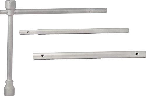 KS Tools 518.0840 Verlängerbarer LKW-Radmutternschlüssel-Satz, 4-tlg.