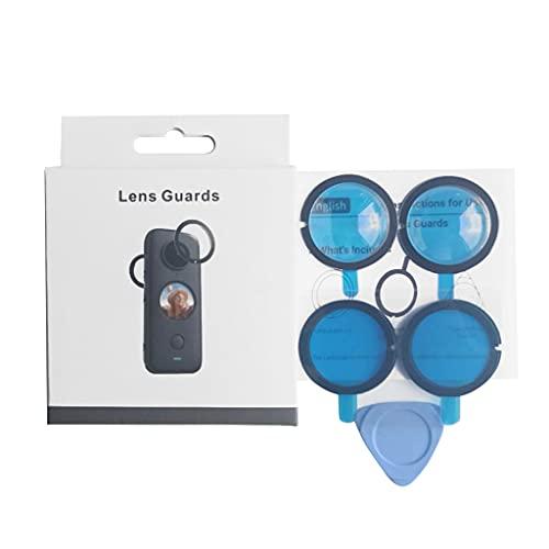 Yushu For ONE X2 Cache de protection pour objectif Insta 360 One X 2 Accessoires pour caméra d'action pour sports de plein air