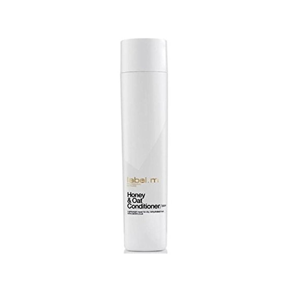 学部長申し立てられた一定Label.M Honey & Oat Conditioner (300ml) (Pack of 6) - .ハニー&オーツ麦コンディショナー(300ミリリットル) x6 [並行輸入品]