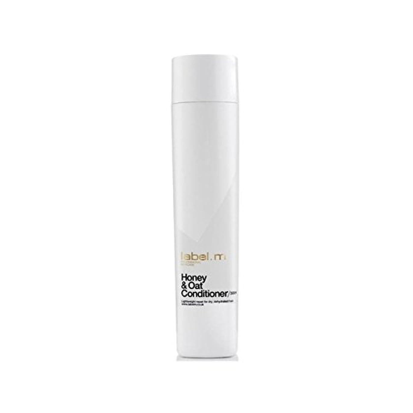 自治在庫乱雑な.ハニー&オーツ麦コンディショナー(300ミリリットル) x2 - Label.M Honey & Oat Conditioner (300ml) (Pack of 2) [並行輸入品]