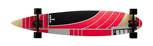 Ridge Deluxe Longboard Skateboard Pin Tail Acero, Drop Through, 115 cm, 8...