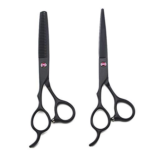 6-Inch Huishouden Left-Handed Hair Clipper, Multi-Functionele Verdunnende Tooth Schaar + Flat-Cut Haircut Suit, Multi-Functionele Kappers Schaar.