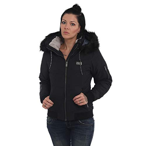 Yakuza Damen Ornamentic Winter Bomberjacke