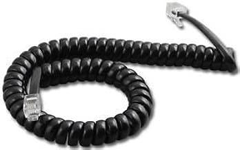 Panasonic 9 Ft. Black Handset Cord For KX-T7000/7100/7200/7400 Series Phones