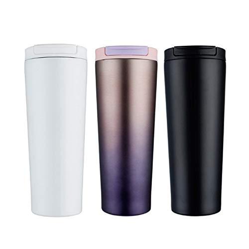 Thermos Cup 1 taza de café 500 ml taza termo taza de acero inoxidable taza con tapa de viaje frasco de vacío tazas contacto vendedor